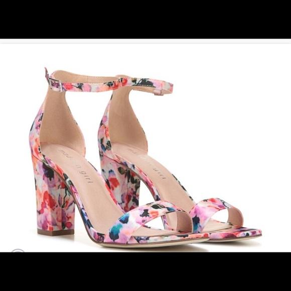 8176b54a3cc7 Madden Girl Beella Floral Multi Block Heel Sandal