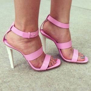 Costume National Shoes - Costume National Pink Sandals (original  $669)