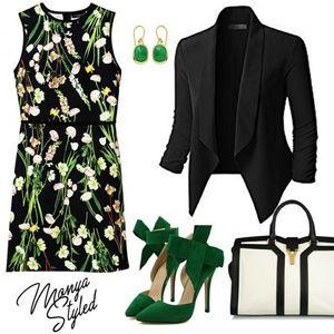 Victoria Beckham English Floral Dress XS