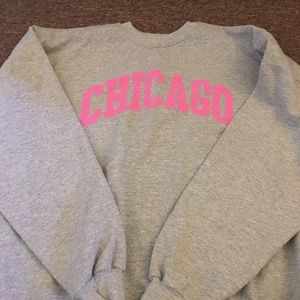 Sweaters - Gray Chicago sweater