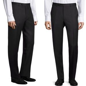 Canali Flat Front Regular Fit Trousers NWOT 36