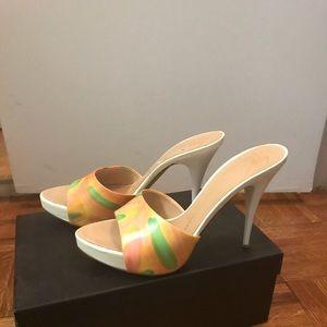 Giuseppe Zanotti summer heels 9.5