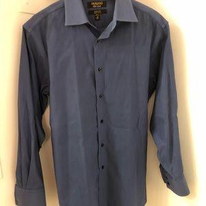 Murano Gold Label Blue 15 - 32 Dress Shirt
