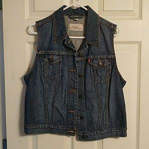 Levi's jean jacket/vest