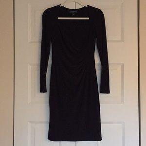 Ralph Lauren Jersey Knit Long Sleeve Dress