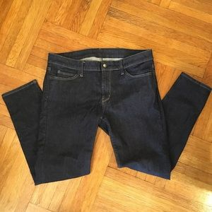 Uniqlo Dark Wash Skinny Fit Jeans