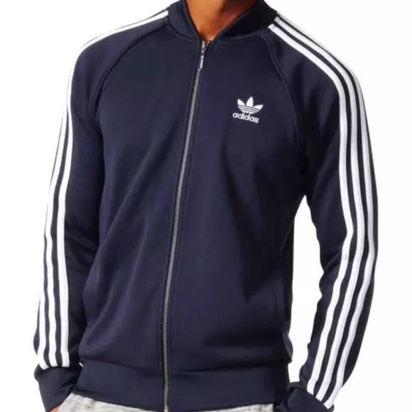 adidas sweat jacket men
