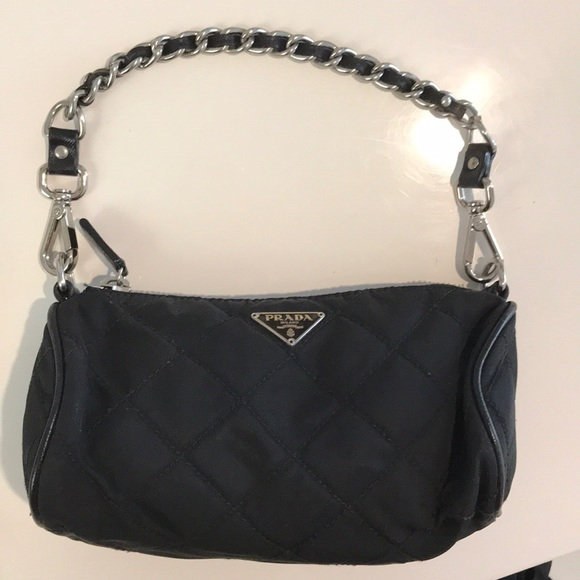 be545eae1c11 Prada quilted nylon tessuto mini bag