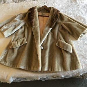 Vintage 1950's Dan Millstein Swing Coat