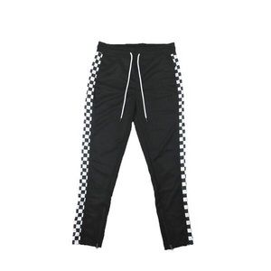 Other - Checkered Track Pants - Black