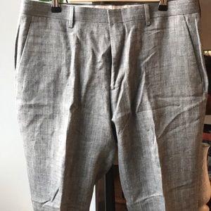 J. Crew Men's Linen Ludlow Slim pant