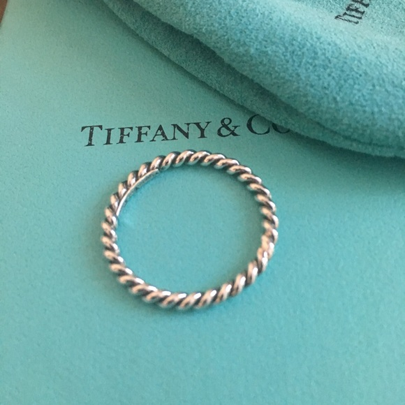 096585aa5 Tiffany & Co. Jewelry | Retired Tiffany Co Narrow Twist Ring | Poshmark