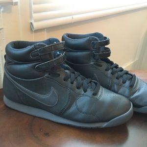 Nike Shoes - Nike WORN ONCE Aerofit All Black high top 9.5 3fb8298b5384