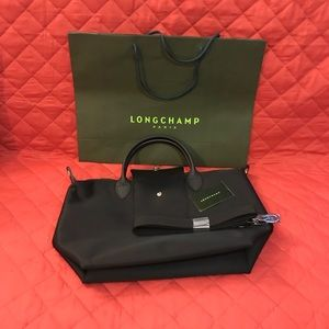 LONGCHAMP PLIAGE NEO BLACK MEDIUM