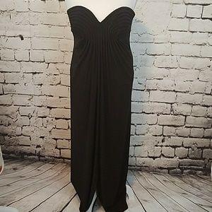 Night Way black evening gown sz 14