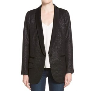 Trouve Metallic Blazer