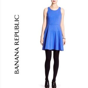 Banana Republic Ponte Fit & Flare Dress
