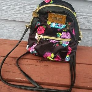 Kate Spade flower print mini backpack