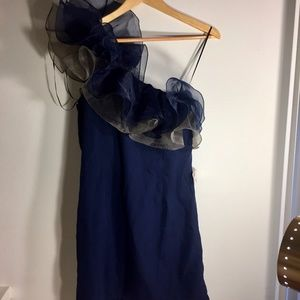 ASOS one shoulder Dress Size 8 NEVER WORN! W TAG!