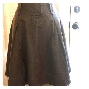 Women's J. Crew Aline wool skirt size 4