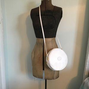 Vintage Gucci Canteen shoulder bag in white