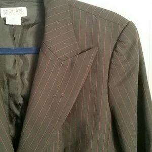 Michael Kors Pinstripe Blazer