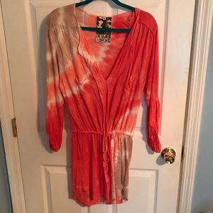 Young Fabulous and Broke Tye dye dress size small