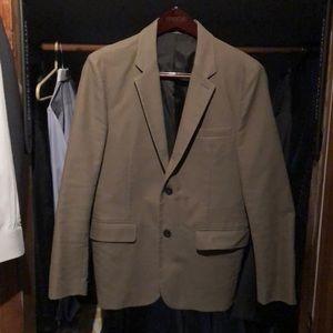 Men's blazer 100% cotton