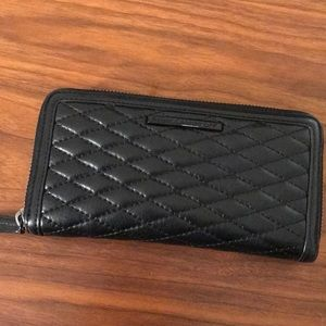 Rebecca Minkoff Ava Quilted Leather Wallet