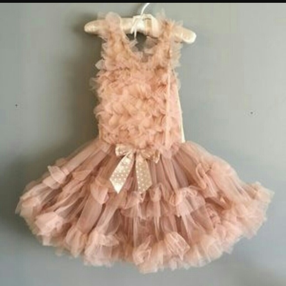 b10dadf7f223 Popatu Dresses   Final Price Champagne Tutu Dress   Poshmark
