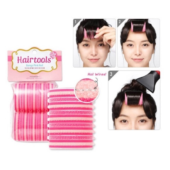 Other Etude House Bangs Hair Pink Roller Poshmark