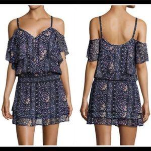 Paige Denim - Olympia Silk Open Shoulder Dress