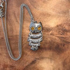 Jewelry - 🦉SILVER OWL NECKLACE🦉