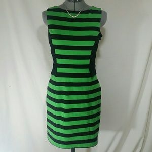 VINCE CAMUTO Striped Sleeveless Size 8