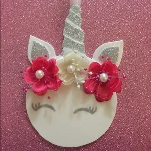 Other - 5 unicorn ornaments