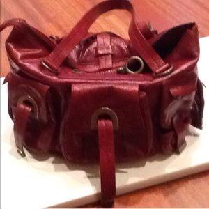 Cynthia Rowley  Red Shoulder Bag