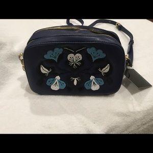 Cynthia Rowley Layla Camera Bag Navy
