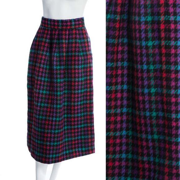4dbff7e43e Vintage Skirts | Rainbow Wool Maxi Skirt | Poshmark