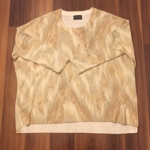 TORN by RONNY KOBO Oversized High/Low Sweater S