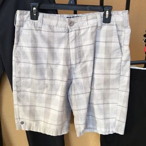 Micros Plaid Shorts
