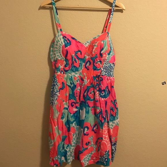 1d01147631b2 Lilly Pulitzer Dresses | Christine Dress In Coral Reef | Poshmark