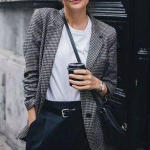 gray plaid jacket