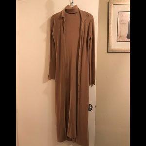Sweater dress/duster