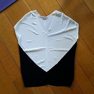 FA10 (?) Narciso Rodriguez cap sleeve sweater