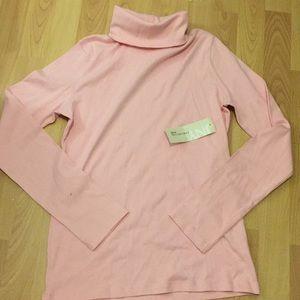 Jones NY pink turtle neck size M