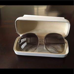 Chloe Modified Rectangle Sunglasses