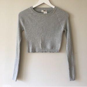 LF Rumor Boutique Crop Sweater Top
