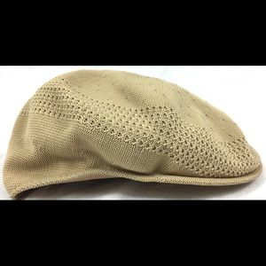 Kangol Tropic 504 Ventair Beige Flat Cap