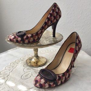 Oscar De La Renta Womens Shoes Pumps Heels Sz 8.5