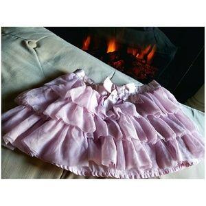 💟 GAP Pink Chiffon Tulle Skirt 💟